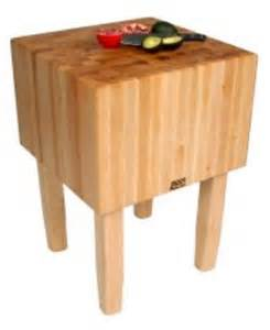 big butcher block boos aa03 butcher block table w 16 in thick