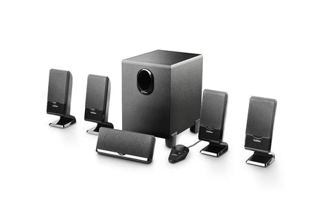 m1550 simple 5 1 home theatre speaker system edifier