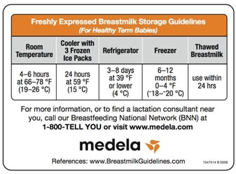 how is breastmilk at room temperature medela breastmilk storage guidelines magnet 1547514 free shipping