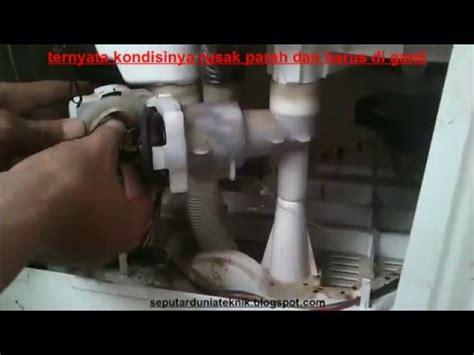 Gearbox Mesin Cuci Lg Otomatis mesin cuci 2 tabung pengering tidak berputar air keluar