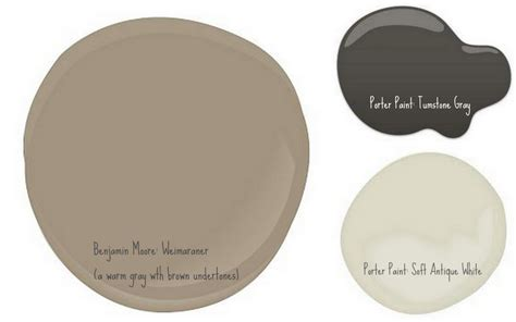 the colors i want to use on our brick house bm weimaraner a warm gray with brown undertones