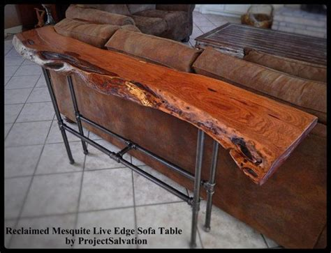 mesquite tables for sale live edge mesquite sofa table reclaimed mesquite sofa