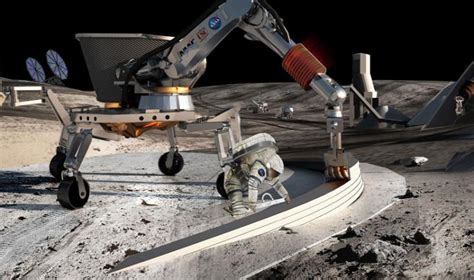 The Contour Crafting Appliance That Makes Your Home by From Earth To The Moon Technology Makes Automatic House