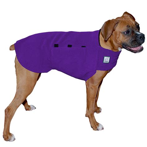 sweater for dogs boxer tummy warmer fleece coat sweater for dogs