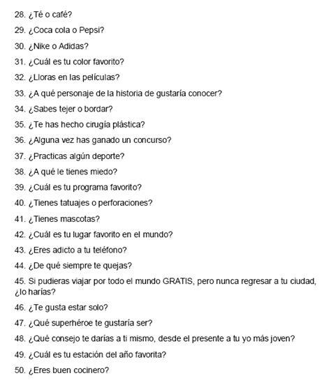 preguntas atrevidas a tu pareja tag quot 50 preguntas que nadie hizo quot parte 2 2 tags