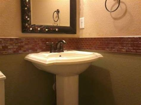 bathroom chair rail ideas pin by angie on basement