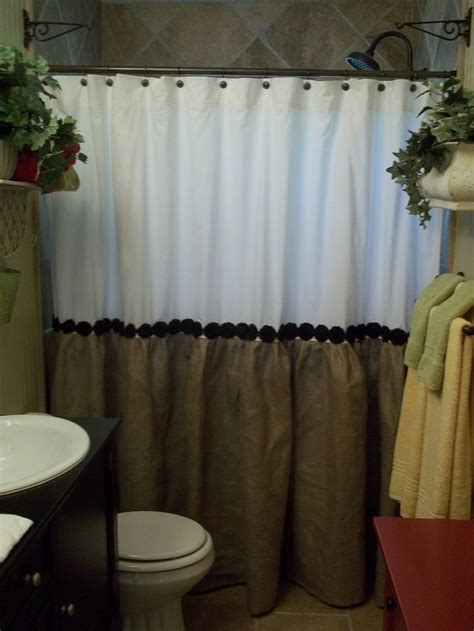 top to bottom curtain shop 1000 ideas about burlap shower curtains on pinterest