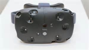 Htc Vive by The Sensor Studded Front Of The Developer Edition S Head