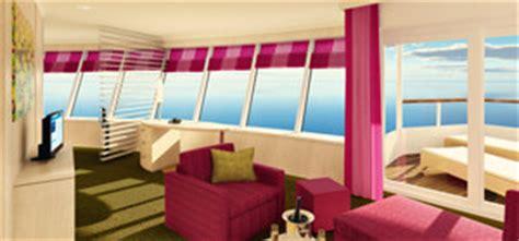 panorama suite aida kabinen auf aidasol die schiffskabinen hier ansehen