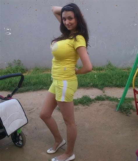 large russian russian with big wears a tight top tight tops