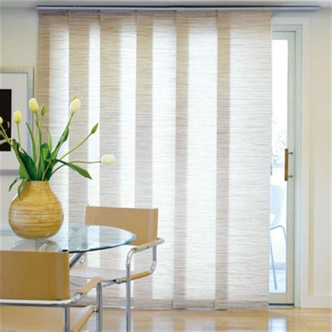 Kitchen Patio Door Window Treatments Panel Track Blinds For The Balcony Door Would Be Smart To Them Split In The Middle