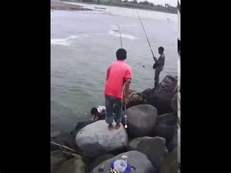 mancing pake umpan udang kecil dapat ikan besar