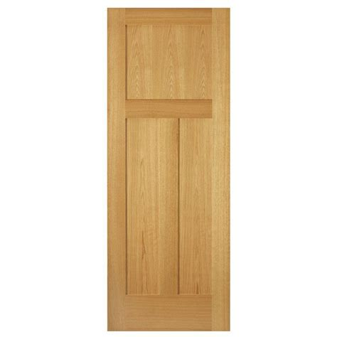 oak interior doors home depot steves sons 30 in x 80 in 3 panel mission unfinished