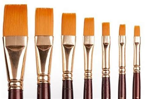 Flat Brush flipkart camlin series 67 flat paint brushes