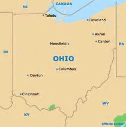 ohio to map cleveland maps and orientation cleveland ohio oh usa