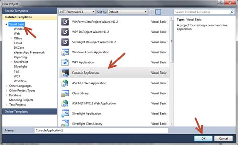 tutorial visual basic console application how to make vb net console application with ms access