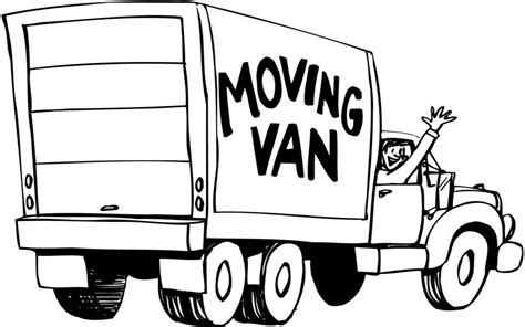 Moving On And Moving In by Moving Truck Clipart 101 Clip