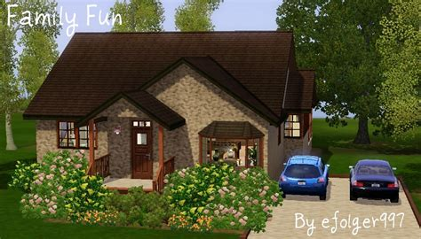 mod the sims family small family home