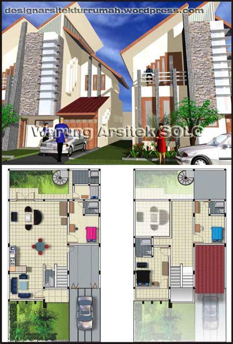 layout rumah desain arsitektur jasa desain rumah minimalis hubungi warung arsitek solo