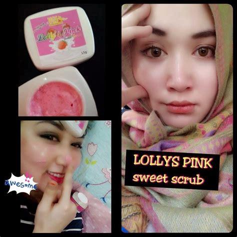 Muka Baby Pink menjual produk kecantikan dan kesihatan lolly s pink sweet scrub