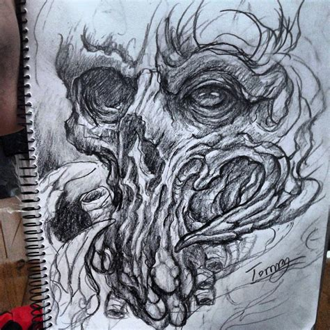 organic tattoo design by tommyyu on deviantart