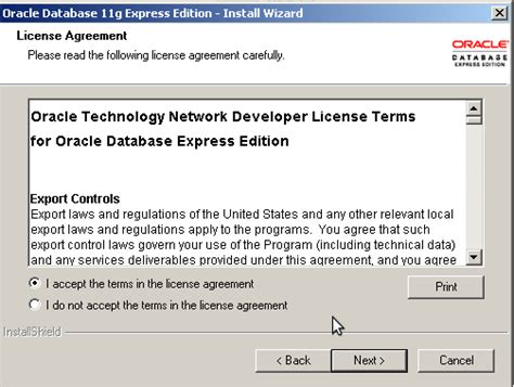 tutorial oracle 11g express edition catatan kuliah cara instal oracle database 11g express