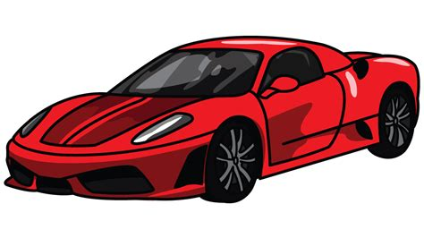 cartoon sports car png cartoon cars ferrari www imgkid com the image kid has it