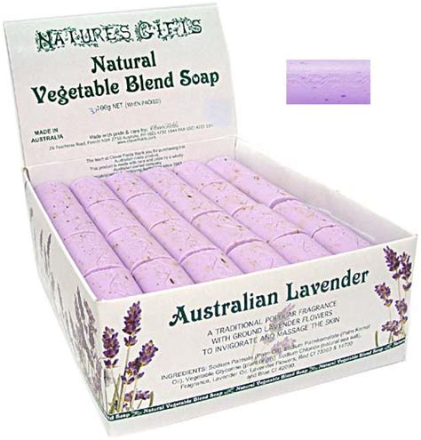Handmade Soap Australia - australian lavender 30g natures gifts mini soap gifts