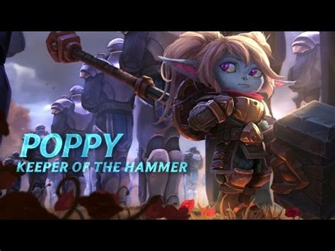 In Box League Of Legends Lol Keeper Of The Hammer Poppy Figure Collec chion spotlight poppy keeper of the hammer leagueoflegends