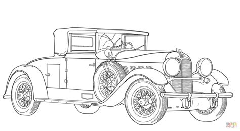 printable coloring pages of old cars old fashioned car coloring page free printable coloring