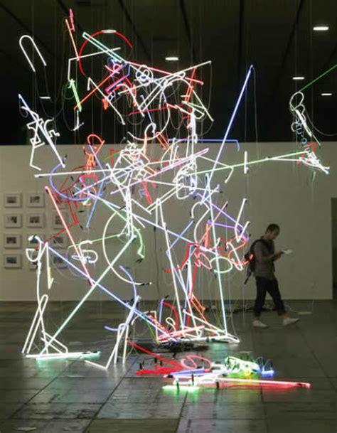 let there be light 14 illuminating art installations