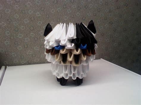 3d Origami Cow - cow album sazriel 3d origami