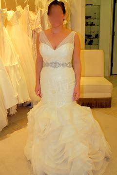my dress before alterations weddingbee photo gallery
