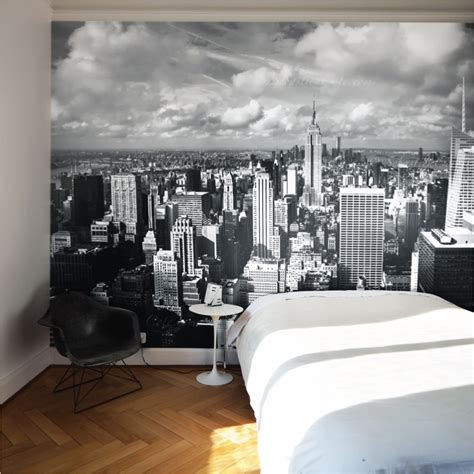 city wallpaper bedroom buy removable wall murals online new york city image design