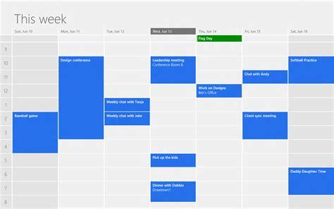 Calendar App For Windows Designing The Windows 8 Calendar App Building Windows 8