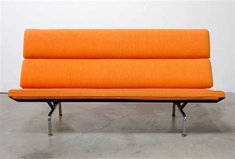 eames compact sofa eames 174 compact sofa by charles eames for herman miller