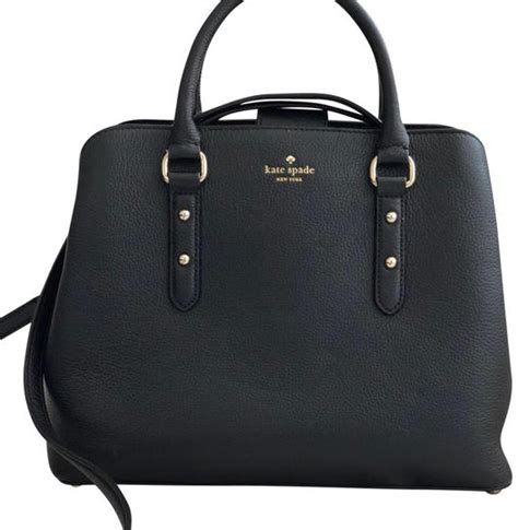 Avenue Black kate spade evangelie larchmont avenue black leather