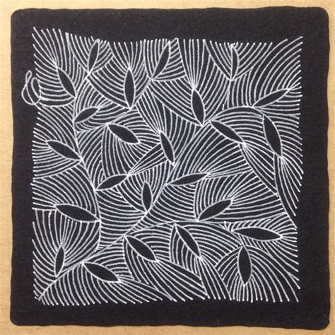 zentangle pattern yuma 877 best black tile images on pinterest zen tangles