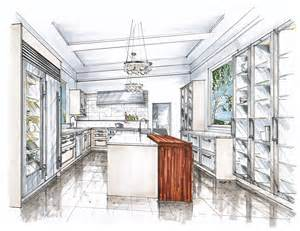 Kitchen Design Sketch by New Project In Bermuda Mick Ricereto Interior Product