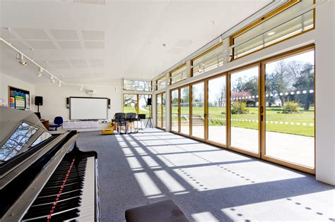 golden hill design workshop bristol st hugh s school music room projects oxford architects