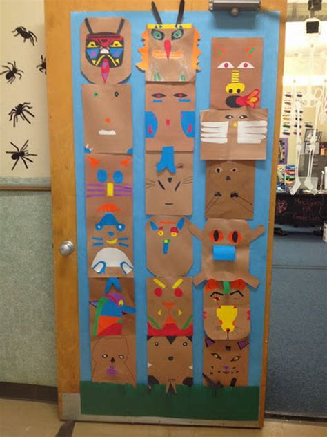 cool totem pole craft projects  kids hative