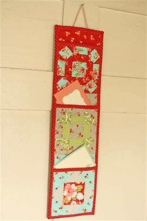 pattern for mail holder free pattern mail letter holder from why not sew