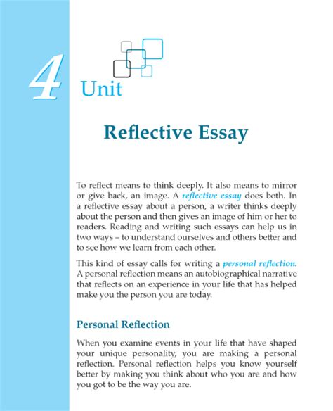 Reflective Essay About Writing Skills by Reflective Essay On Writing Skills
