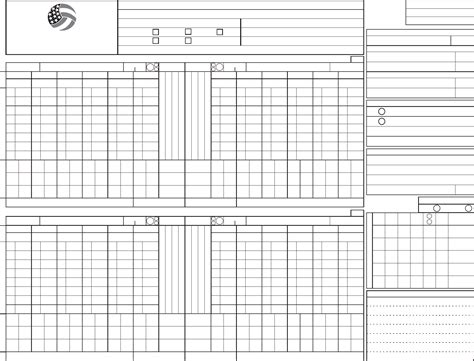 free printable volleyball score sheets official volleyball score sheet usa volleyball free download