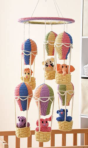 mobile pattern library ravelry balloon mobile pattern by kj hay