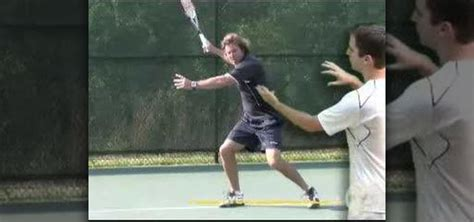 tennis forehand swing how to focus swing path in a tennis forehand