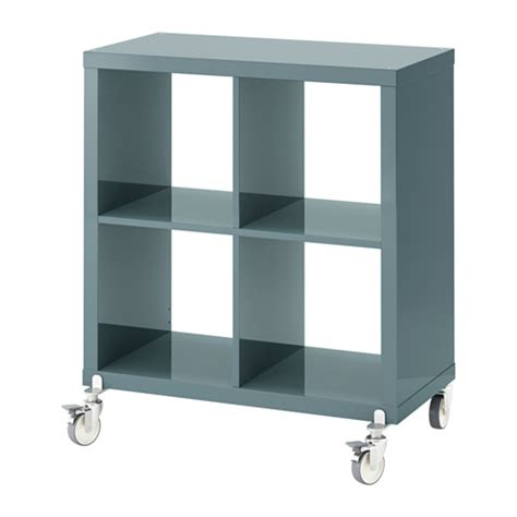 Shelf Casters by Kallax Shelving Unit On Casters