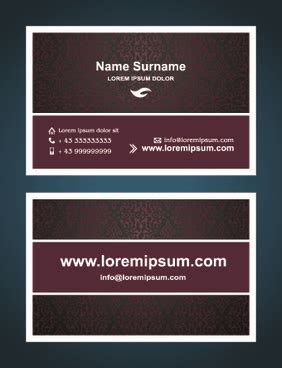 id card design template ai id card illustrator templates free vector download