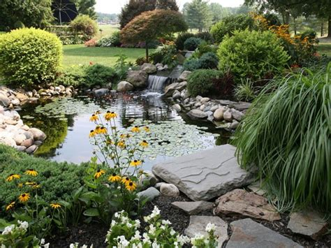 good pond landscaping ideas bistrodre porch and