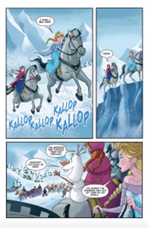 disney olaf s frozen adventure cinestory comic books between the frames a look inside disney comics oh my disney